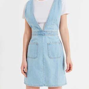 Urban outfitters denim overall dress